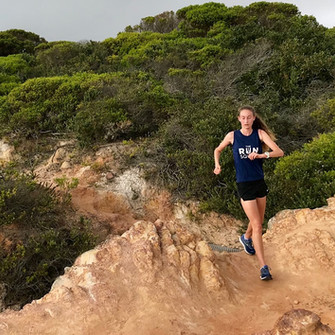 Issy runs the Coastal Trails