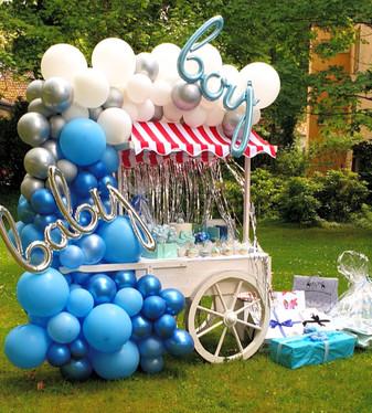 Baby Boy Party Deko
