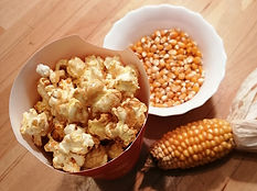 Mushroom Mais, optimales Popvolumen für süßes Popcorn