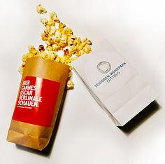 Popcorntüten Branding bedruckenindividuell