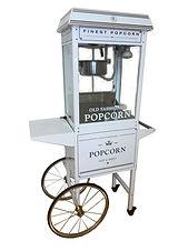 Popcornmaschine chwarz vintage