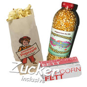 50 Portionen Popcorn
