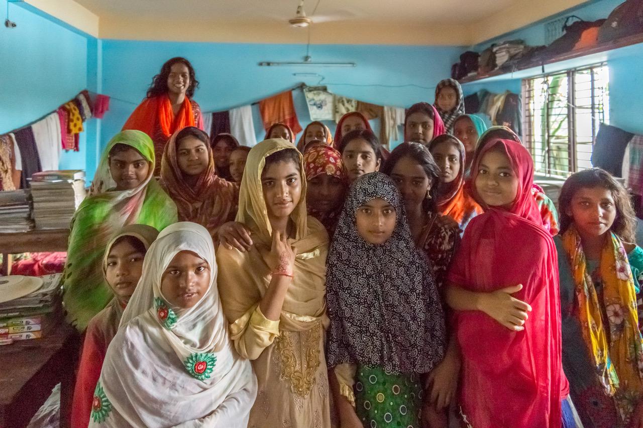 2018 Girls group in Dorm
