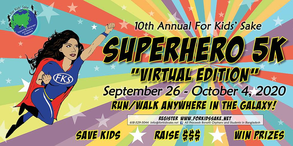 Superhero 5K: Virtual Edition