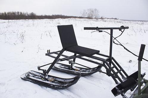 Задний лыжный модуль