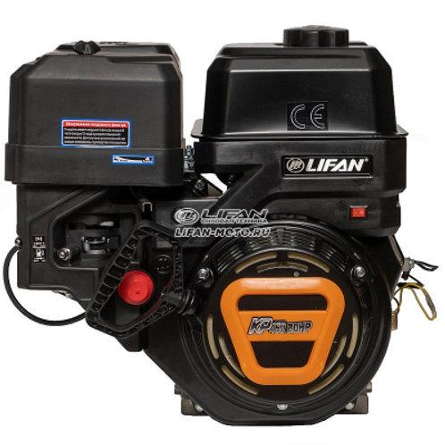 Двигатель Lifan KP460 (192F-2T) 20 л.с.