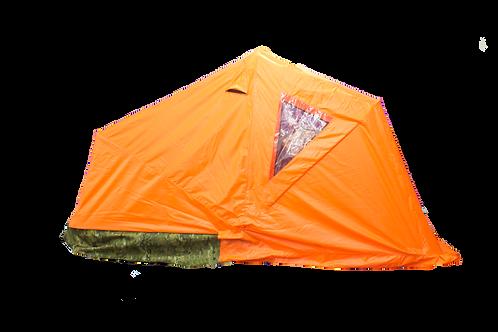 Мобильная палатка с санями