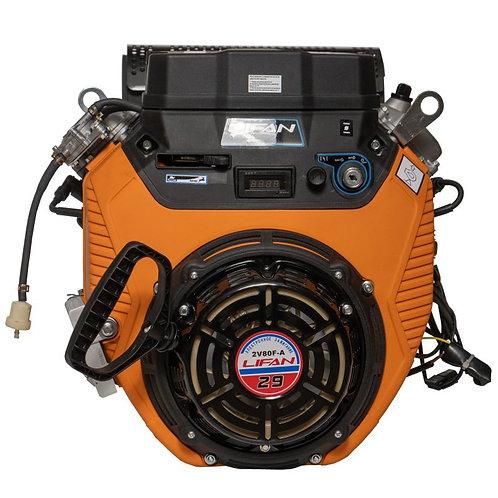 Двигатель Lifan LF2V80F-A 29 л.с. с электрозапуском