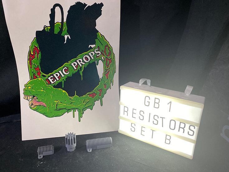 Resin cast resistor set B