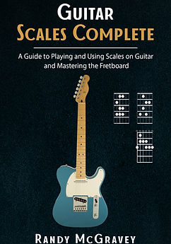 Guitar Scales Complete - Book Cover (Author Randy McGravey)