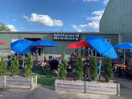 8/8/2021 Randy McGravey at the Millyard Brewery, Nashua NH