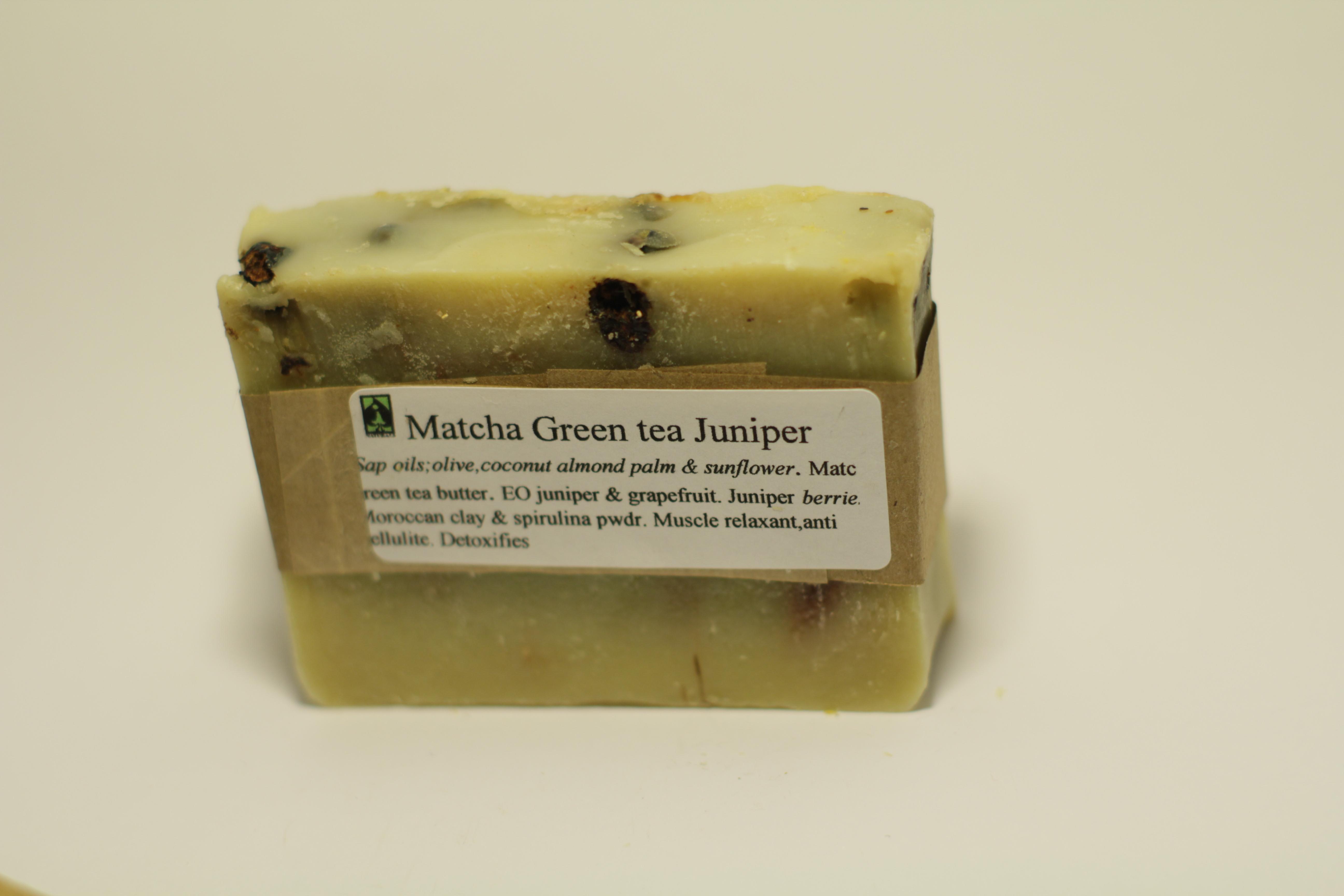 Matcha Green tea Juniper