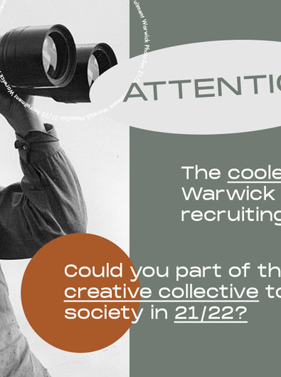 PhotoSoc Exec Recruitment 21/22