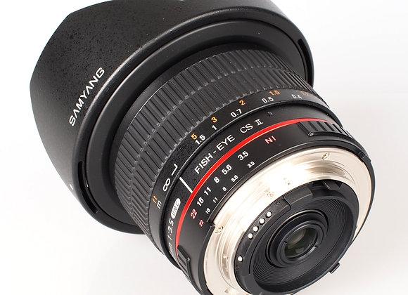 Samyang Fisheye 8mm f/3.5