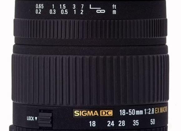 Sigma 18-50mm f/2.8