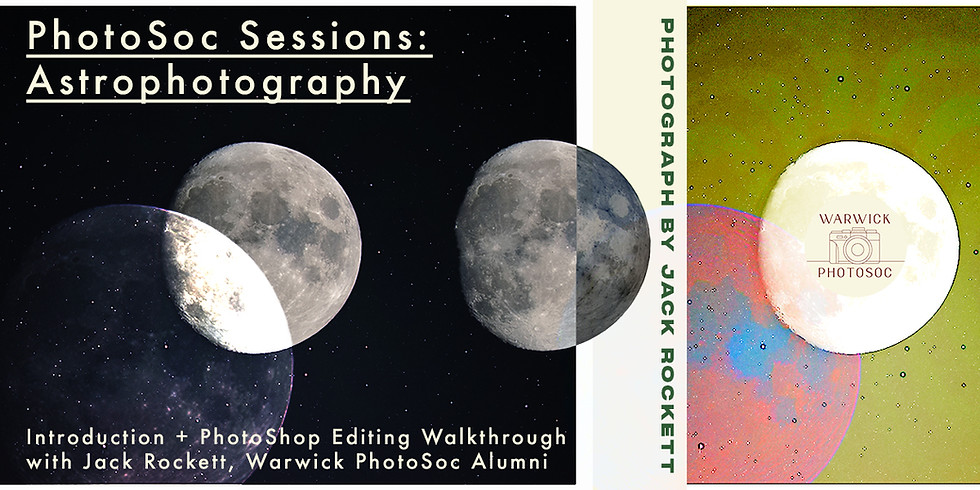 Week 1 PhotoSoc Sessions : Astrophotography