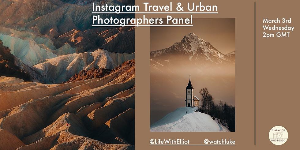 Week 8: Travel & Urban Photography Panel