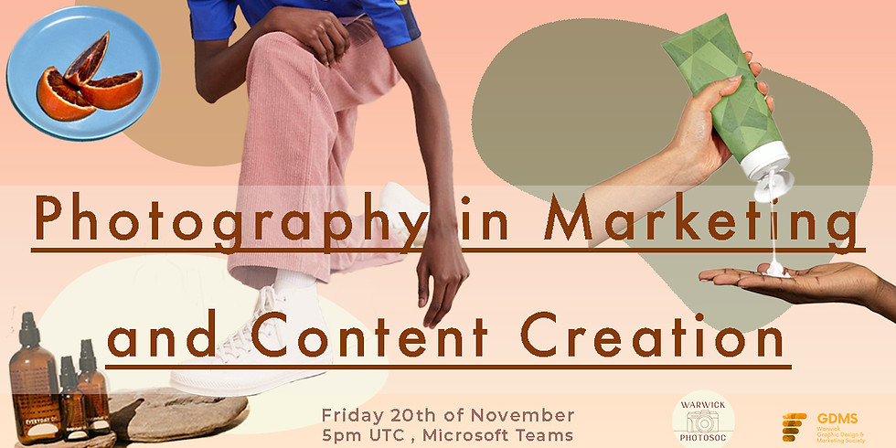 Photography in Marketing and Content Creation