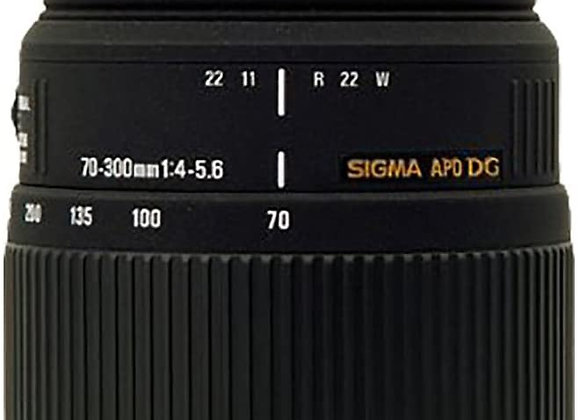 Sigma 70-300mm f/4-5.6DG Macro Telephoto
