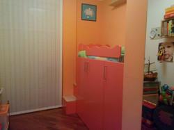 camera con cabina armadio a specchio