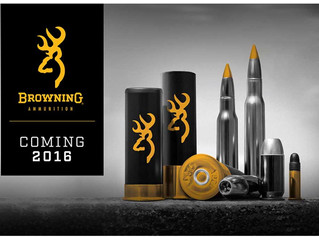 Introducing Browning Ammunition -- Coming 2016