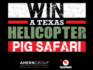 Win a Texas Helicopter Pig Safari