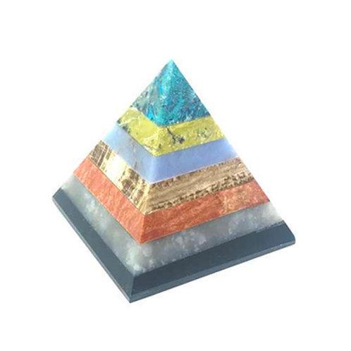 7 Stone Bounded Pyramid (2 Sizes)