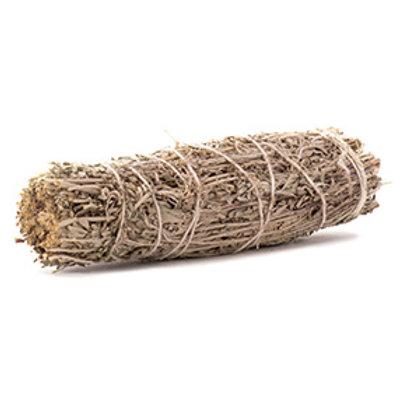 "Lavender & White Sage Smudge Stick, 8-9"" Length"