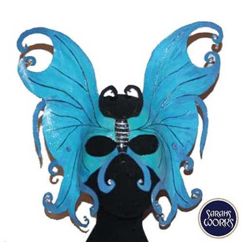 Elemental Butterfly, Leather Mask