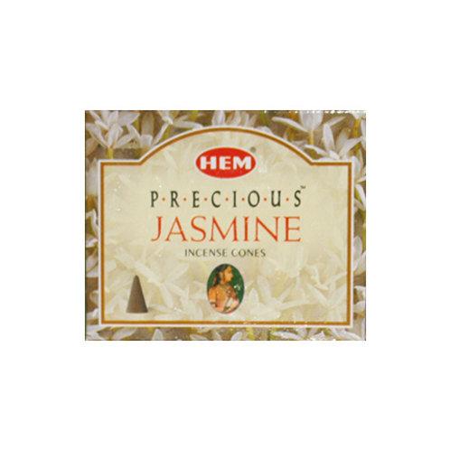 HEM Jasmine Incense Cones, 25g (10 Cones)