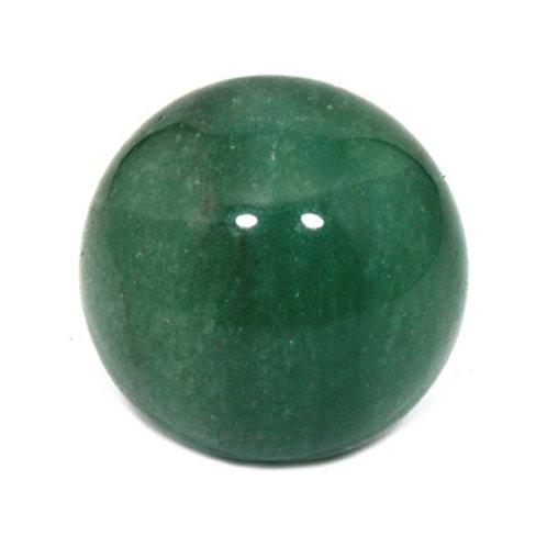 """Green Aventurine Crystal Sphere, 4"""" Diameter"""