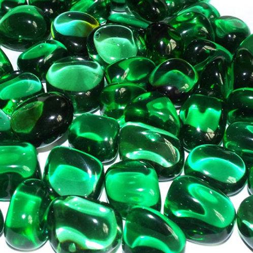 Obsidian, Green Polished (Medium Size)