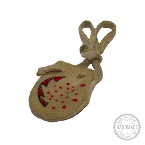 Suede Leather Medicine Bag (Design 2)