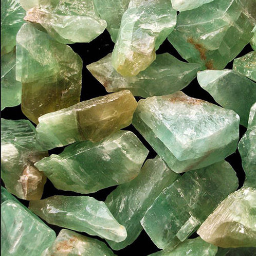 Calcite, Green Rough (Small Size)