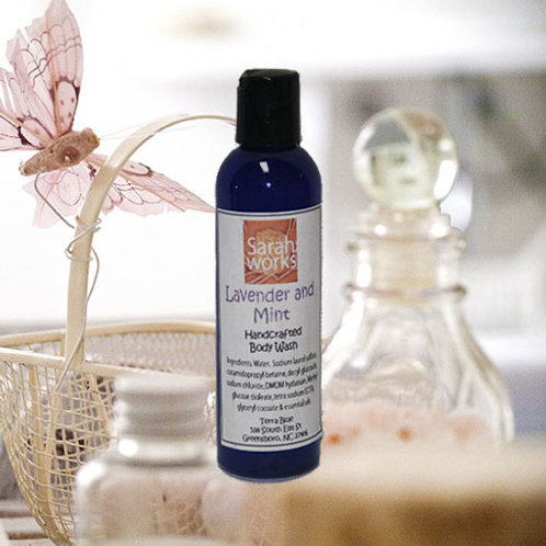 Lavender & Mint Body Wash 4 Oz.