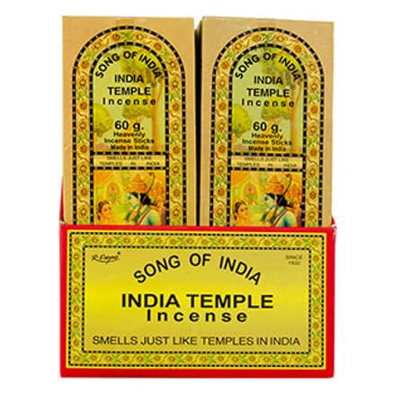 India Temple Incense Sticks 60g