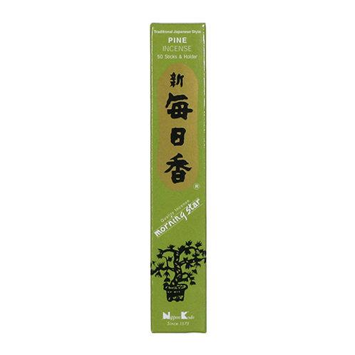 Morningstar Pine Incense Sticks (50 in Box)