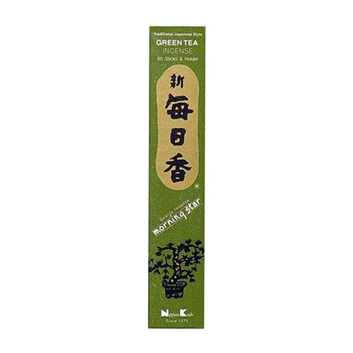 Morningstar Green Tea Incense Sticks (50 in Box)