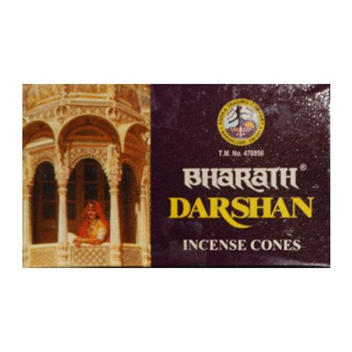 Bharath Darshan Incense Cones, 25g (10 Cones)