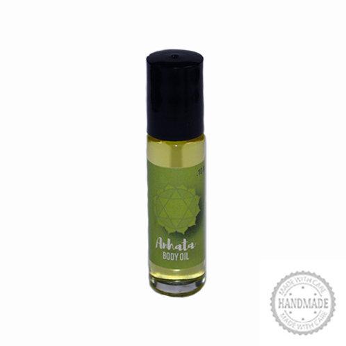 Anahata Chakra Body Oil, 10 ML.