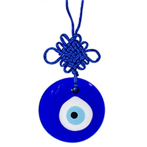 Evil Eye Glass Hanging Talisman
