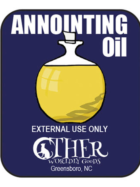 Annointing Oil .5 Oz. Bottle