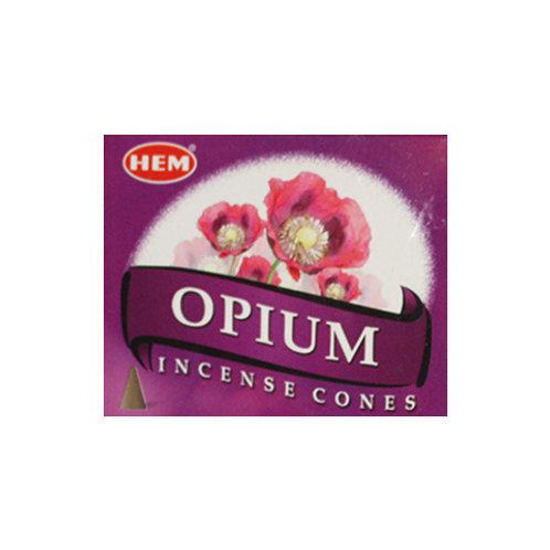 HEM Opium Incense Cones, 25g (10 Cones)