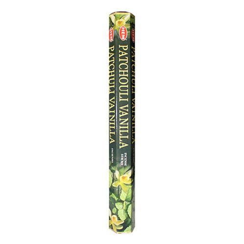 HEM Patchouli Vanilla Incense, 20g (20 Sticks)
