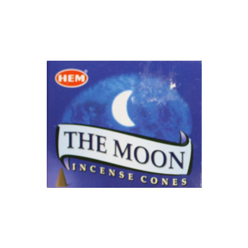 HEM Moon Incense Cones, 25g (10 Cones)