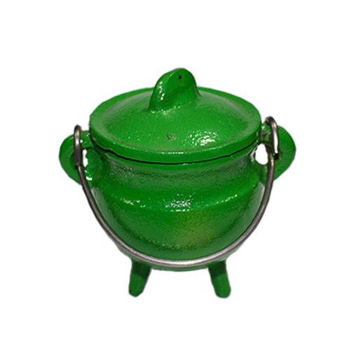 Mini Kettle Cauldron (Green)