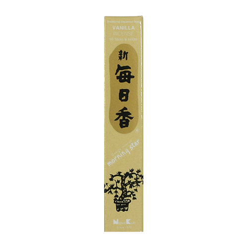 Morningstar Vanilla Incense Sticks (50 in Box)