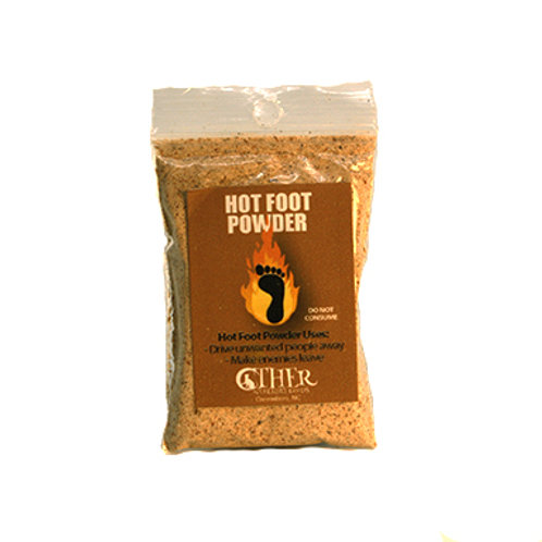 Hot Foot Powder, 1 Oz. Package (Other Worldly Goods)