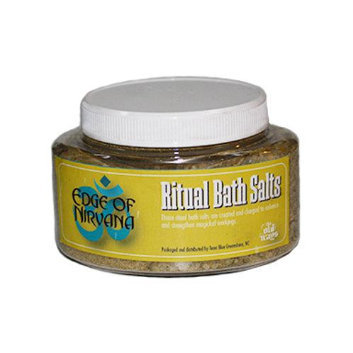 Edge of Nirvana Ritual Bath Salts, 9 Oz.
