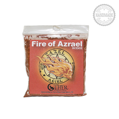 Fire of Azrael Incense, 1 Oz. Package (Other Worldly Goods)